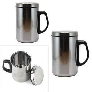 Travel Tumbler Drinkware Coffee-Mug Stainless-Steel Insulated Mugs 350/500ml Tea-Mug-Cup