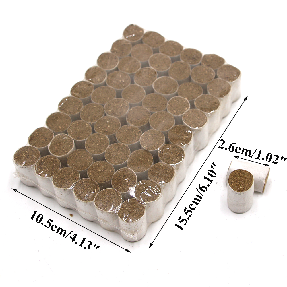 54pcs/bag The Bomb Smoke Bombs Bee Dedicated Herbs Disinfect Tools Beekeeping Equipment Beekeeping Beehive Tool Fumador Supplies