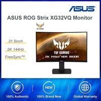 ASUS ROG Strix XG32VQ 31.5 inch Curved 2K Gaming Monitor 144HZ Rapid Refrash Rate IMAX Screen Aura Sync FreeSync™ 125% sRGB