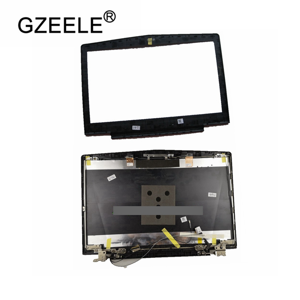NEW FOR <font><b>Lenovo</b></font> Legion R720 R720-15 <font><b>Y520</b></font> LCD top cover <font><b>case</b></font> with hinges and screen cable AP13B000100/LCD Bezel Cover AP13B000200 image