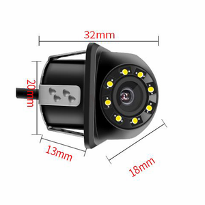Image 5 - NEW High definition Car Rear View Camera 8 LED Night Vision Reversing Auto Parking Monitor CCD Waterproof 170 Degree HD Video