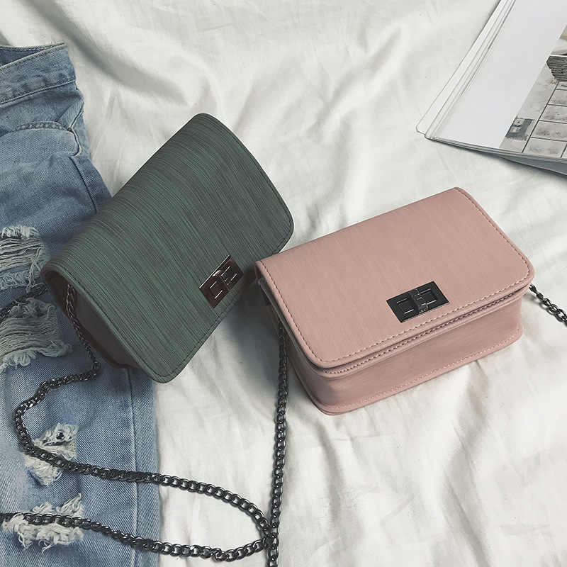 Women Shoulder Bag 2019 Luxury Handbags Women Bags Designer Version Luxury Wild Girls Small Square Messenger Bag Bolsa Feminina