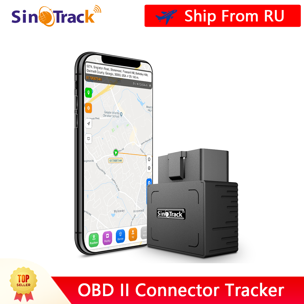 OBD II GPS Tracker 16PIN OBD Plug & Play Auto GSM OBD2 Tracking Gerät GPS locator OBDII mit online Software IOS andriod APP