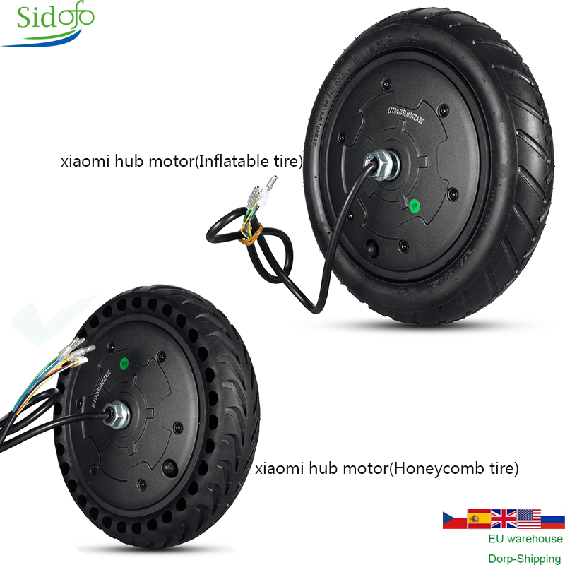 Hub <font><b>Motor</b></font> Wheel Electric Scooter <font><b>Motor</b></font> <font><b>36V</b></font> <font><b>300W</b></font>-350W Engine Wheel 8.5inch For XiaoMi M365/MIJIA/PRO Electric Scooter Controller image
