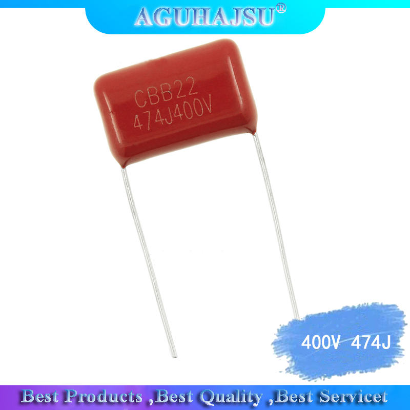 10PCS 400V 474J 0.47 <font><b>UF</b></font> CBB <font><b>22</b></font> Cap 15mm Leg distance All new products image