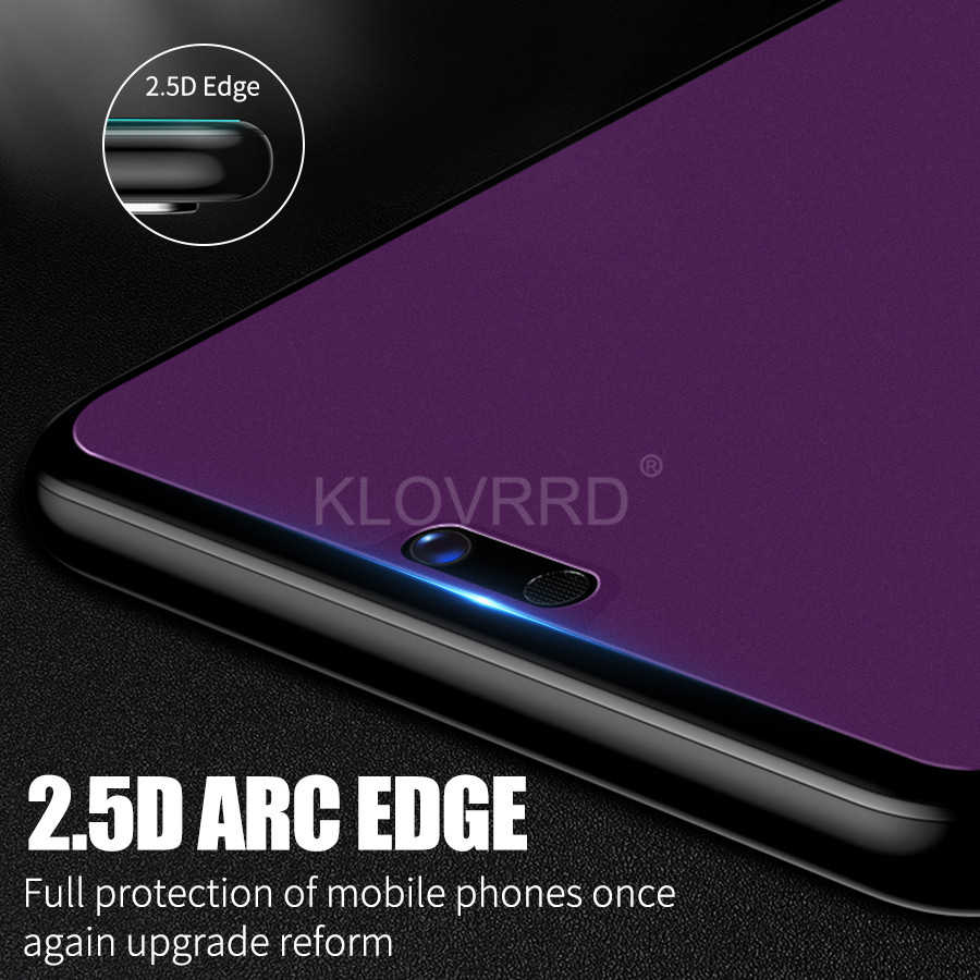// Enjoy 9 Plus 2019 GzPuluz Glass Protector Film 25 PCS AG Matte Anti Blue Light Full Cover Tempered Glass for Huawei Y9