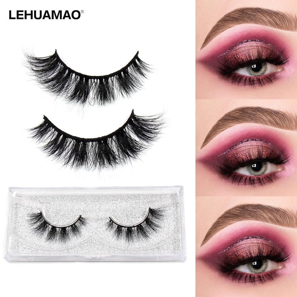 Mink Eyelashes Makeup Natural False Eyelashes Fake Eye Lashes Long Makeup 3D Mink Lashes Extension Eyelash Makeup For Beauty