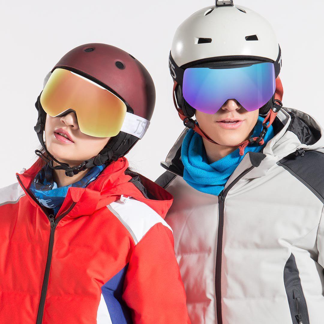 Xiaomi TS cylindre neige miroir cylindrique neige miroir Uv + antibrouillard résistance aux chocs légèreté Xiomi verre pour enfants adulte - 3