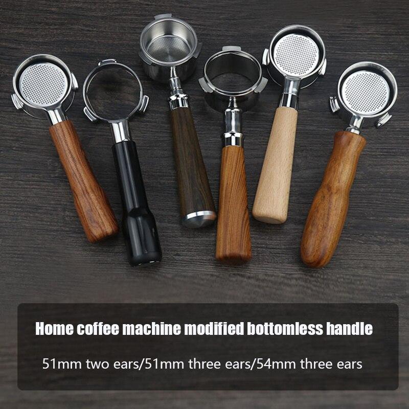 Кофе бездонный портафильтр 51 мм для Delonghi фильтр 54 мм для Breville замена фильтра корзина аксессуары для кофе