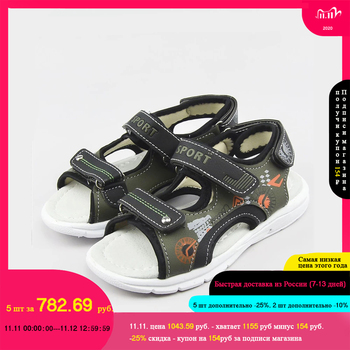2020 Summer Kids Shoes Boys Sandals Orthopedic Sport PU Leather Baby Boys Sandals Shoes,Wholesale of children's shoes leather sandals boys 2020 100