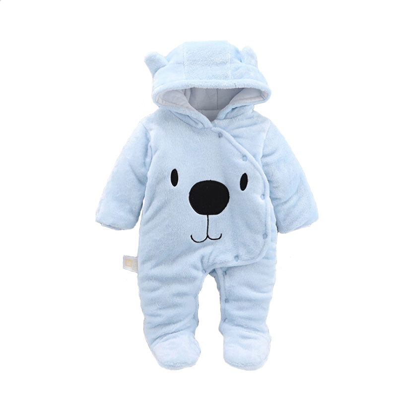 2019 Fashion Baby Rompers Winter Boy Girl Clothes Cotton Newborn Warm Jumpsuits Clothing Hot
