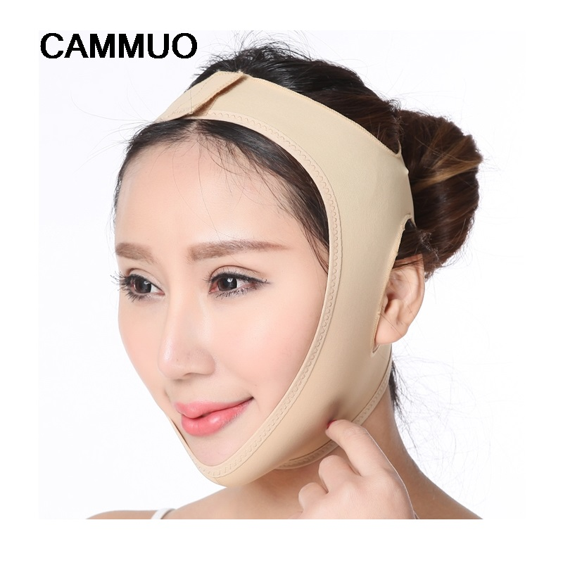 Facial Slimming Mask Face Lift Up Belt Thin Neck Mask Sleepi…