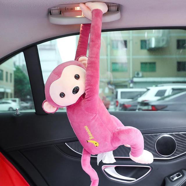 Cute Car Tissue holder box | Car Napkin Storage