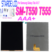 For Samsung Galaxy Tab A 9.7 T550 T555 LCD Display Screen Panel Replacement  Repair Part for samsung galaxy trend lite s7390 s7392 lcd display panel monitor screen repair replacement part free tracking