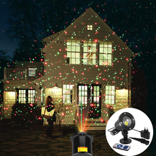 Outdoor Garden Lawn Stage Effect Light Waterproof Fairy Sky Star Laser Projector Light Christmas Party Decorative Landscape Lamp