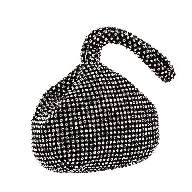 Flapper Handbag Clutch 20s Gatsby Crystal Evening Clutch Bag 1