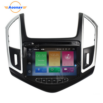 Car HD touch screen video radio multimedia player For Chevrolet Cruze 2013 2014 car autoradio stereo GPS navigation system image