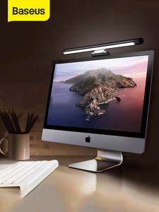 Baseus Desk-Lamp Hanging-Light Reading-Screen Computer-Eye-Protection USB Office Adjustable