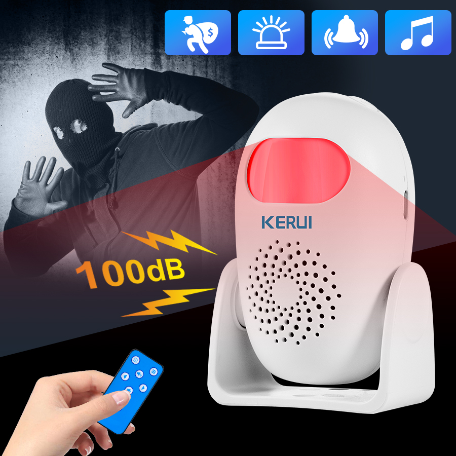 KERUI M120 Integrated Welcome Alarm Alarm Welcome Doorbell Multifunction IR Motion Sensor Remote Control Wireless Greeter