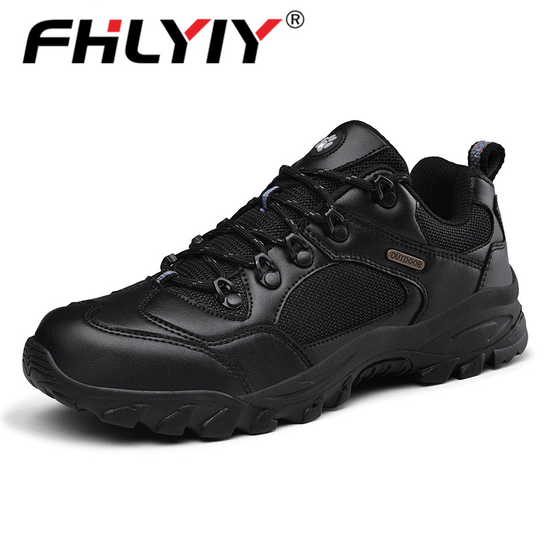 Fhlyiy Men'S Casual Shoes Outdoor Microfiber Leather Sneakers Breathable Lace Up Non-Slip Rubber Shoe Designer Luxury Zapatos