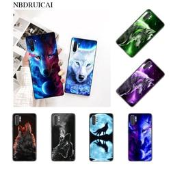 NBDRUICAI красочный волк искусство горячий черный мягкий чехол для телефона чехол для Samsung Note 3 4 5 7 8 9 10 pro M10 20 30