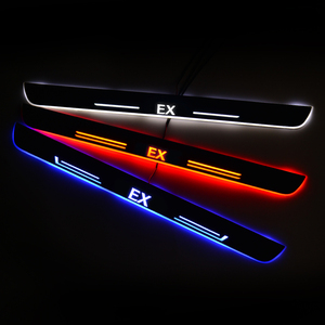 Image 5 - LED Door Sill for Infiniti EX 2007 Door Scuff Plate Entry Guard Threshold Welcome Light Car Accessories