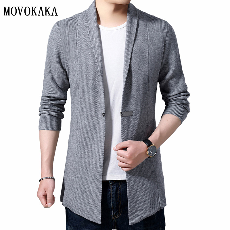 Hot Cotton Sweater Men Single Breasted Cardigan Men Knitted Sweater Male Pocket Cardigan Sweaters For Men Slim Fit Sweater M-3xl