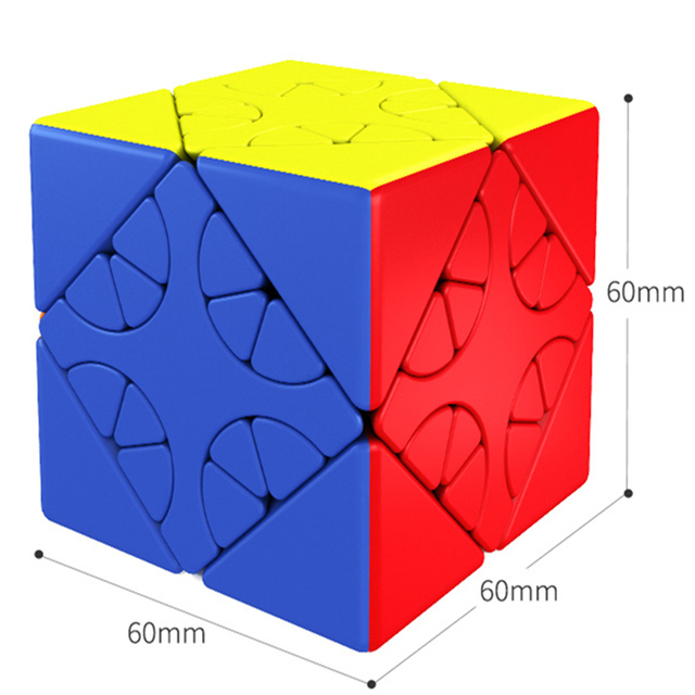 MOYU HunYuan Oblique Turning Cube—1 2 3 2020 New Magic Speed Cube Professional Puzzle Toys For Children Kids Cubo Magico Gift 3