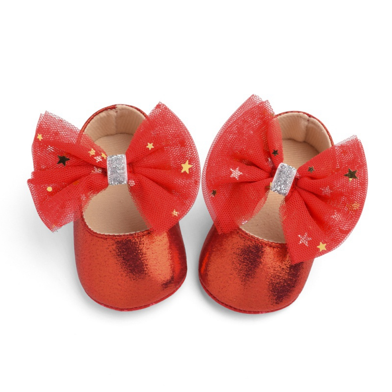 Baby Shoes Baby Girl Soft Shoes Soft Comfortable Bottom Non-slip Fashion Bow Shoes Crib Shoes 2019