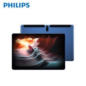 PHILIPS оригинальный 10,1 дюймовый ПК планшет 1920*1200 FHD две камеры 128G Bluetooth Планшеты Android 9,0