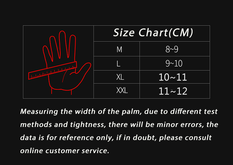 Image 5 - Full finger sheepskin motorcycle gloves waterproof breathable 