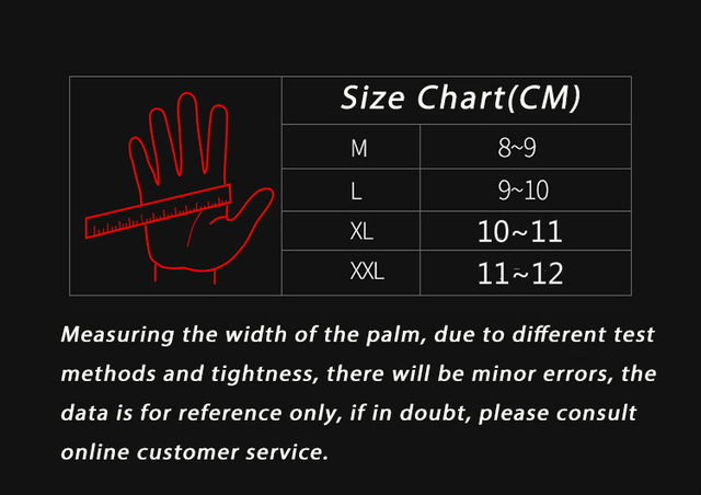 Full finger sheepskin motorcycle gloves waterproof breathable scooter chopper riding gloves Anti-fall leather motocross gloves 5