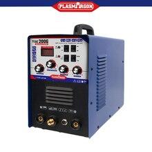 цена на Aluminum Welder 220V TIG MMA ARC Stick 200A Welder AC DC IGBT Inverter Welding Machine With Welding Consumables TSE200G