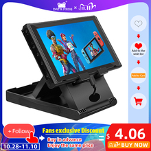 Data Frog Portable Desktop Stand Holder For Nintendo Switch Mobile Phone Tablet Adjustable Fold Base Bracket for Nintendo Switch
