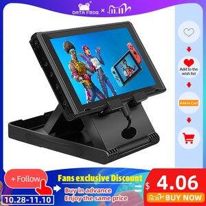 Image 1 - Data Frog Portable Desktop Stand Holder For Nintendo Switch Mobile Phone Tablet Adjustable Fold Base Bracket for Nintendo Switch