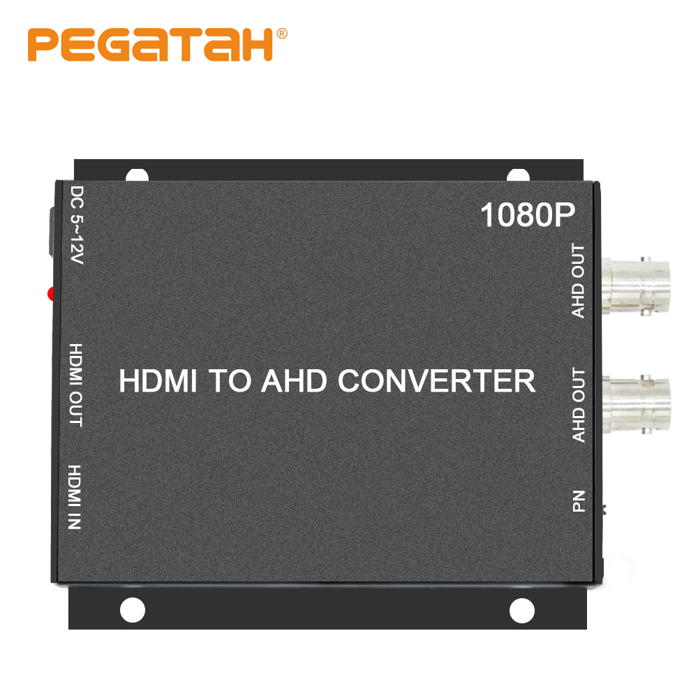 Image 2 - BNC hd Video Converter,HDMI to AHD Converter For Camera CCTV Tester Converter-in Transmission & Cables from Security & Protection