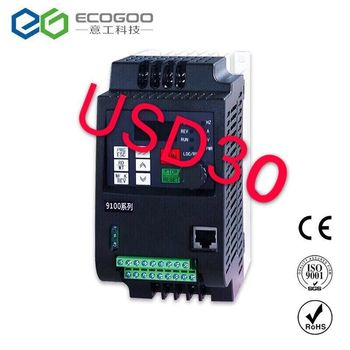 380V 0.75KW/1.5KW/2.2KW Mini VFD Variable Frequency Inverter for Motor Speed Control Converter