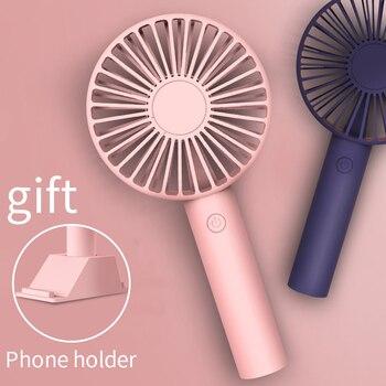 Мини вентилятор портативный для вентилятора портативный USB Перезаряжаемый вентилятор бытовая техника Настольный воздушный кулер для путе...
