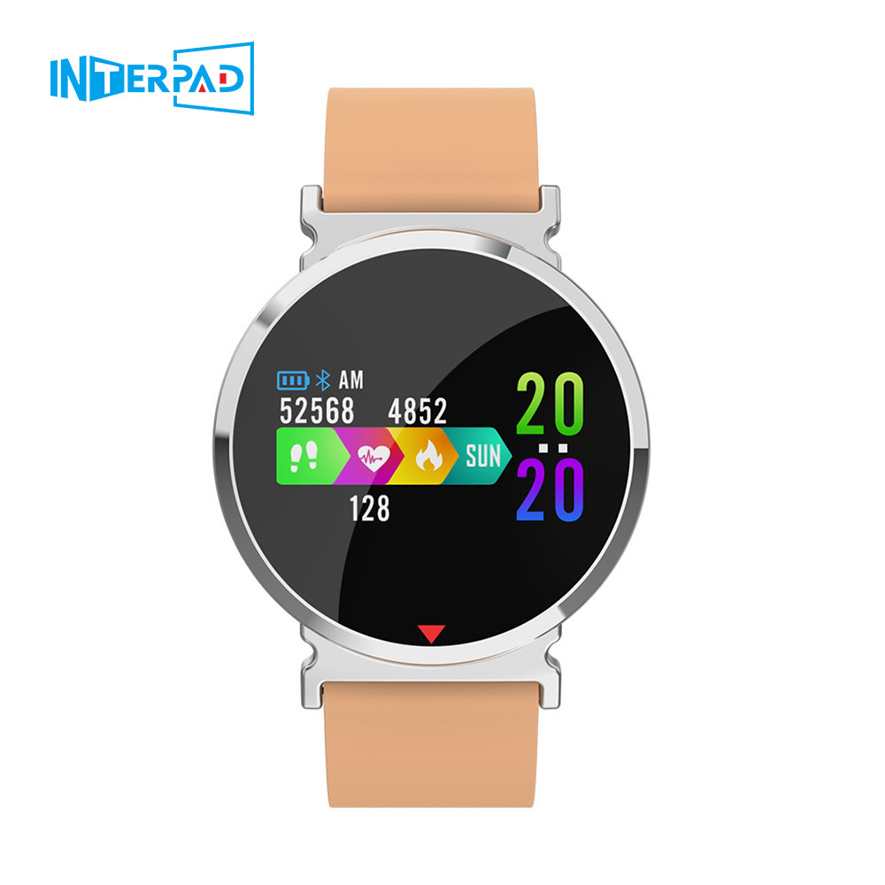 Interpad Smart Watch Men and Women Sports Intelligent Braclet Heart Rate Tracker Fitness Tracker Wristband For iPhone Huawei