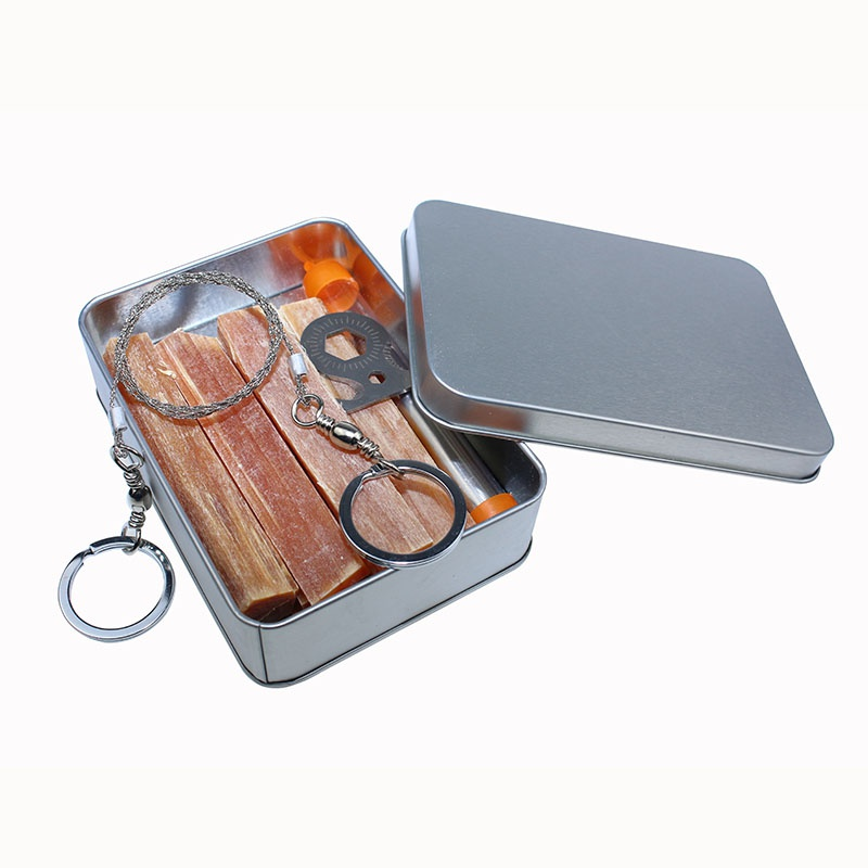 Camping Firewood Pine Torches Cutter Kit Mini Wood Portable Survival Gear Tool Kits Outdoor Tinder Accessories for Lighting