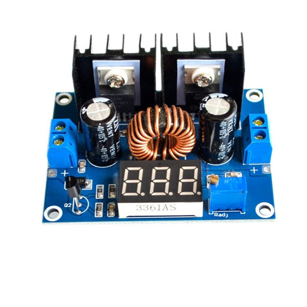 Xl4016E1 Dc-Dc Step-Down Module High Power Dc Voltage Buck Module Regulator 8A With Regulated Buck Module