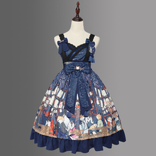 Fuochi d'artificio Mostrano ~ Stile Kimono Stampato Lolita JSK Vestito da Magia Tea Party