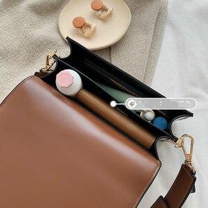 Image 5 - BXX sacs en cuir PU en couleur unie, sacoche femme à bandoulière dautomne 2020, sacs à main de voyage, pochettes HI822