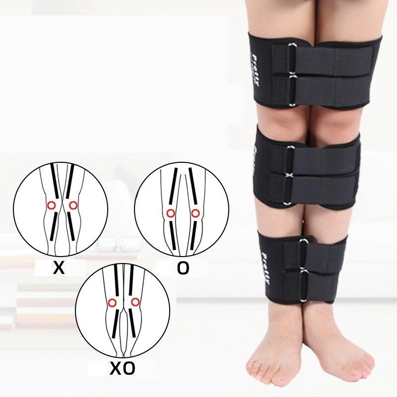 3pcs/set Effective O/X Type Leg Bowed Legs Knee Valgum Straightening Correction Band Posture Corrector Leg Band Belt Corrector W