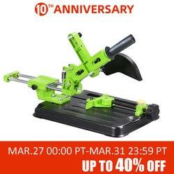 Universal soporte para lijadora en ángulo amoladora de ángulo de herramienta para trabajar la madera DIY corte amoladora de pie de apoyo dremel Accesorios de herramientas eléctricas