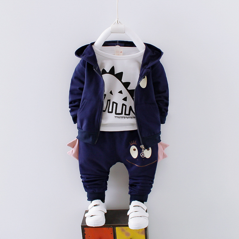 Toddler Infant Baby Boy Hooded Letter Blouse Tops Pants Outfits Clothes Set 2Pcs