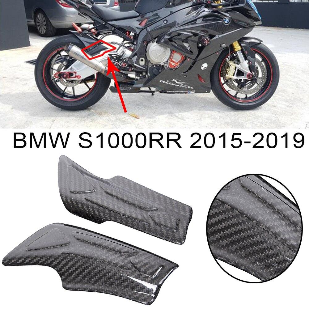 Fits Honda CBR1000RR 2017 real carbon fiber tail light fairing KIT trim pad