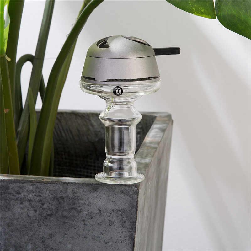 Yimi hookah tigela de vidro shisha cabeça cabeça de vidro shisha único furo cabeça pote de vidro para tubulação de água funil