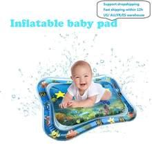 Sommer aufblasbare wasser matte für babys Sicherheit Kissen Eis Matte Frühen Bildung Baby Spielzeug Spielen Sommer Spielzeug