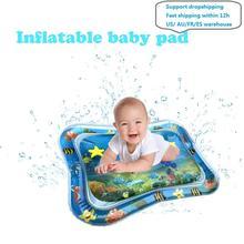 Tapete de agua inflable de verano para bebés, cojín de seguridad, tapete de hielo, Educación Temprana, juguetes de bebé, Juego